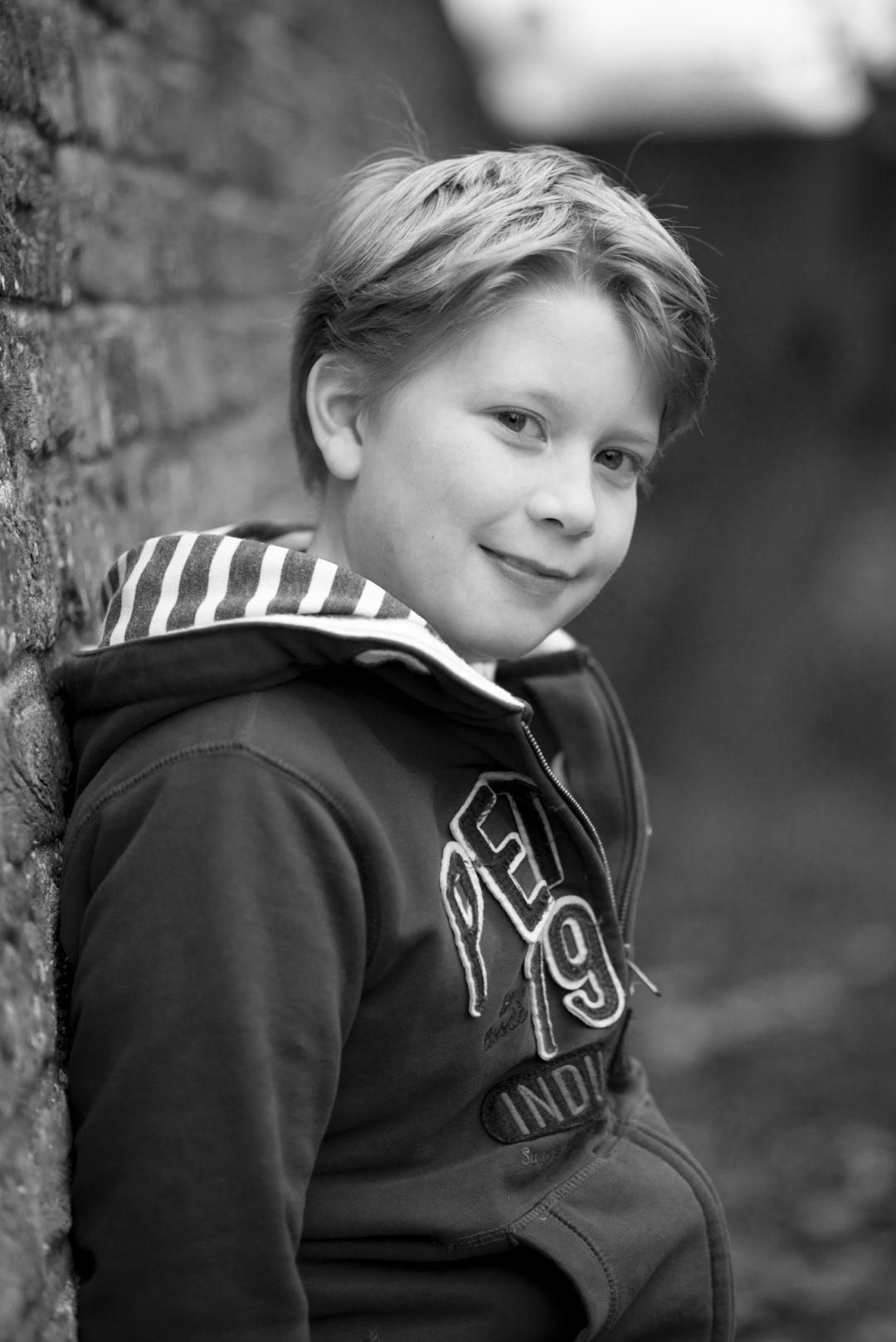 Kinderportret, stoer en tijdloos