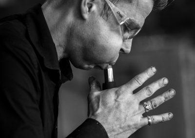 Meesterglasblazer Gert Bullée