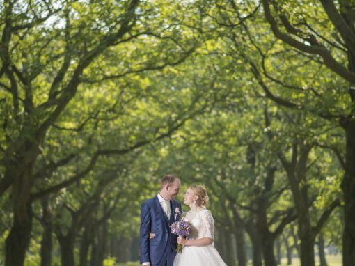 Sfeervolle trouwfotografie