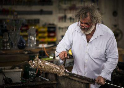 Bernard Heesen, 's lands bekendste meesterglasblazer