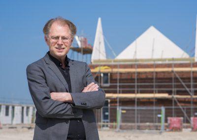 De architect van bouwproject De Broekgraaf