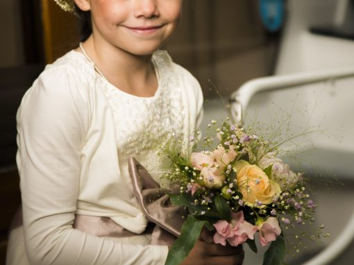 Schattig bruidsmeisje